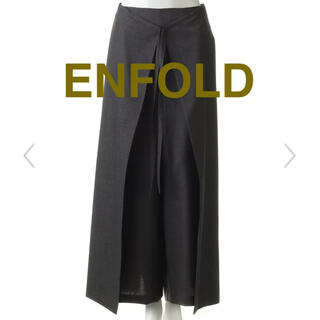 ENFOLD - エンフォルドENFOLDエプロンパンツ deuxiemeclasse マルジェラ