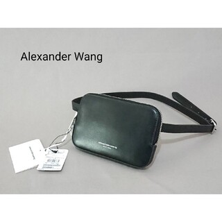 アレキサンダーワン(Alexander Wang)のAlexader Wang アレキサンダーワン ウエストポーチ ブラック(ボディバッグ/ウエストポーチ)