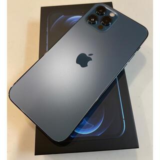 Apple - iPhone12 pro 128GB パシフィックブルー 国内版SIMフリー