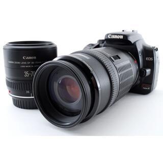 Canon - お得‼☆標準~望遠まで撮影OKです♪☆CANON キャノン EOS Kiss X