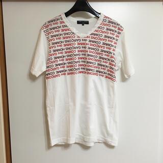 コムデギャルソン(COMME des GARCONS)のCOMMEdesGARCONS HOMME ロゴ入り 半袖Tシャツ(Tシャツ/カットソー(半袖/袖なし))