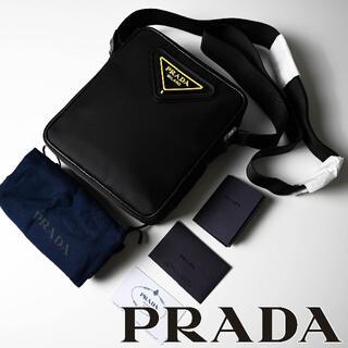 PRADA - 新品 2020AW PRADA ナイロン+レザークロスボディ