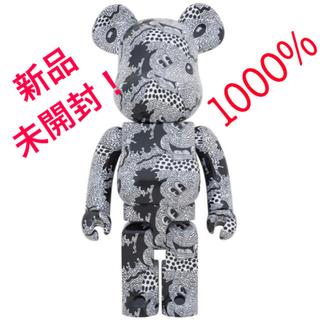 メディコムトイ(MEDICOM TOY)のベアブリック Keith Haring Mickey Mouse 1000%(キャラクターグッズ)