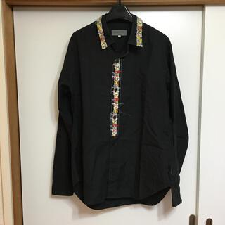 Yohji Yamamoto - Yohjiyamamoto POUR HOMME  刺繍シャツ