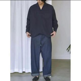 COMOLI - comoli DENIM BELTED PANTS size0