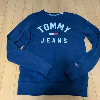 トミー(TOMMY)のTOMMY JEANS ネイビー スウェット(スウェット)