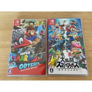 Nintendo Switch - スマブラ マリオオデッセイ switchソフトセット
