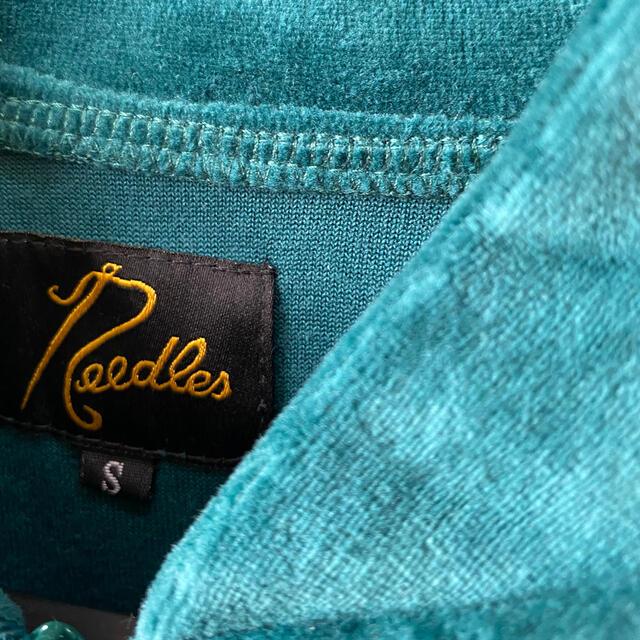 Needles(ニードルス)のトラックジャケットパンツセットSグリーン未使用 メンズのトップス(ジャージ)の商品写真