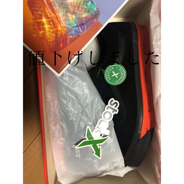 W)taps(ダブルタップス)のWTAPS × VANS OG OLD SKOOL LX BLACK メンズの靴/シューズ(スニーカー)の商品写真