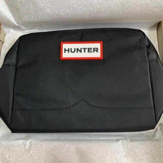 HUNTER - 【新品】HUNTER Black 男子兼用 ショルダーバッグ
