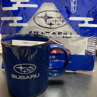 スバル(スバル)のSUBARU マグカップ コットンガーゼクロス(グラス/カップ)