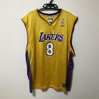 リーボック(Reebok)のNBA レイカーズ コービーブライアント  ユニフォーム リーボック 黄色(バスケットボール)