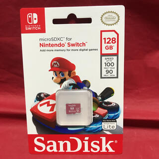 SanDisk - Nintendo Switchライセンス商品 microSDカード 128GB