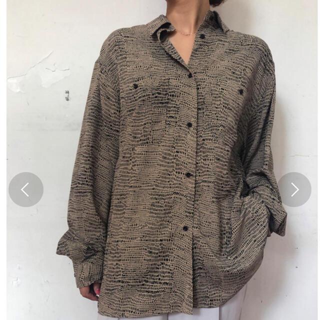 TODAYFUL(トゥデイフル)のtodayful♡プリントラフシャツ レディースのトップス(シャツ/ブラウス(長袖/七分))の商品写真