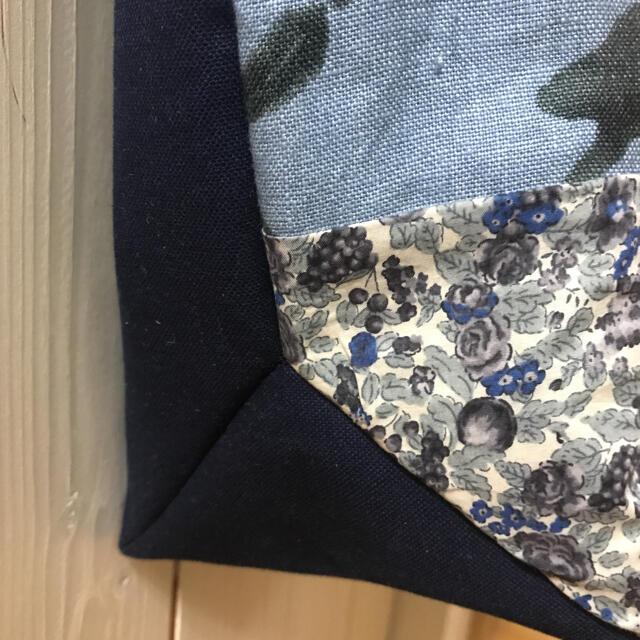 mina perhonen(ミナペルホネン)のミナペルホネン ハンドメイド パニーニバッグ 三角マチ ハンドメイドのファッション小物(その他)の商品写真