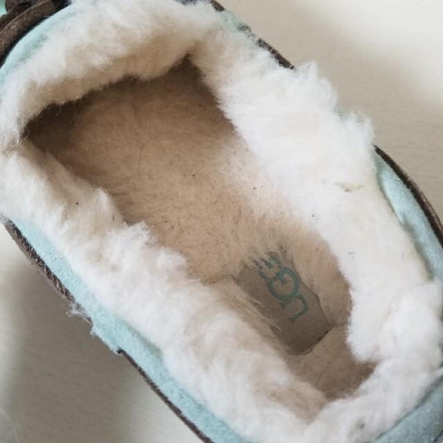 UGG(アグ)のUGG  アグ モカシン  24㎝ ダコタ エメラルドグリーン アンスレー  レディースの靴/シューズ(スリッポン/モカシン)の商品写真