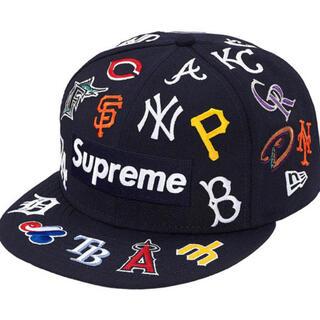 シュプリーム(Supreme)のsupreme MLB box logo newera cap 7 5/8(キャップ)