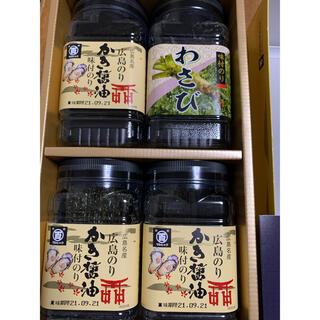 マルヒャク広島のり 広島名産 かき醤油味付けのり 4個セット
