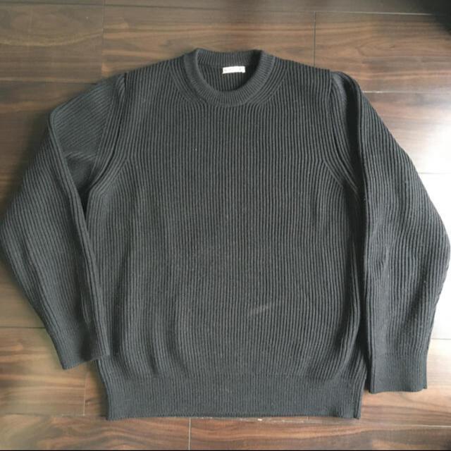 """COMOLI(コモリ)の""""AURALEE"""" スーパーファインウールリブニットP/O size5 メンズのトップス(ニット/セーター)の商品写真"""
