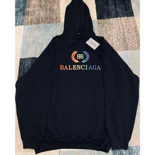 バレンシアガ(Balenciaga)のバレンシアガ レインボー刺繍パーカー(パーカー)