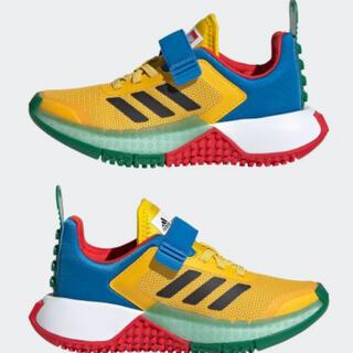 adidas - adidas LEGO Sport キッズ シューズ イエロー 25.5cm