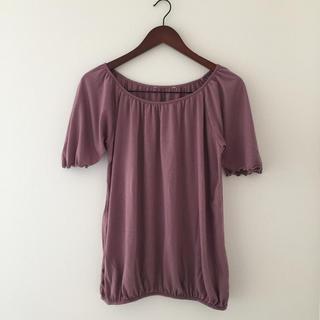 ハニーズ(HONEYS)のくすみピンク 半袖ゆるカットソー(カットソー(半袖/袖なし))