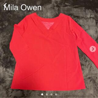 ミラオーウェン(Mila Owen)のミラオーウェン★カットソー(カットソー(長袖/七分))
