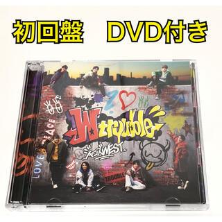 ジャニーズWEST - 【初回限定盤】 ジャニーズWEST wtrouble 初回 B CD+DVD
