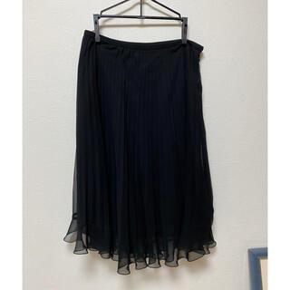 ハナエモリ(HANAE MORI)のプリーツスカート(ひざ丈スカート)