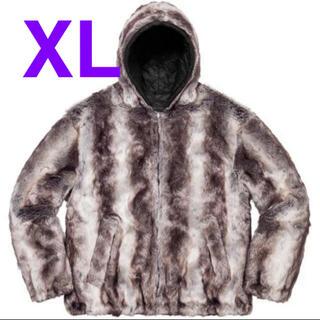 シュプリーム(Supreme)のsupreme Faux Fur Reversible Hooded  XL(ブルゾン)