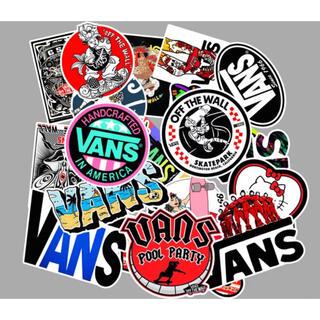 ヴァンズ(VANS)のバンズ VANS ストリート ステッカー シール 防水 フレークシール(スケートボード)