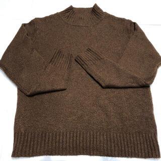 シマムラ(しまむら)の☆2PINK☆ しまむら vivi ブラウン ニット プチハイネック セーター(ニット/セーター)