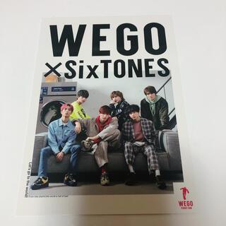 Johnny's - WEGO ポストカード SixTONES