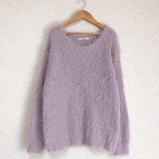 GRL - ★グレイル きれい色、ふわふわシャギーニット セーター GRL★