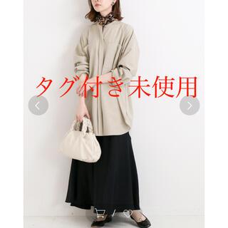 IENA - タグ付き未使用 IENA メランジルーズシャツ