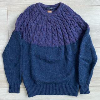 アンユーズド(UNUSED)の未使用 Common People コモンピープル Wool Knit 46(ニット/セーター)