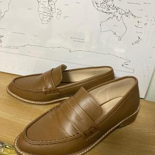 ランダ(RANDA)のRANDA  orientaltraffic  ローファー キャメル  今期(ローファー/革靴)