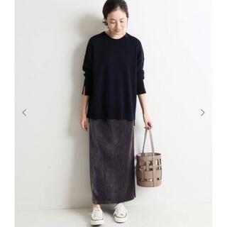 IENA SLOBE - コールカットタイトスカート