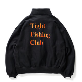 BEAMS - L tight booth chaos fishing club スウェット 黒