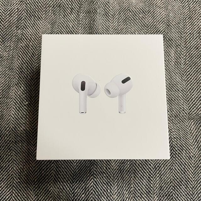 Apple(アップル)の新品未開封 国内正規品 Apple AirPods Pro エアーポッズプロ スマホ/家電/カメラのオーディオ機器(ヘッドフォン/イヤフォン)の商品写真