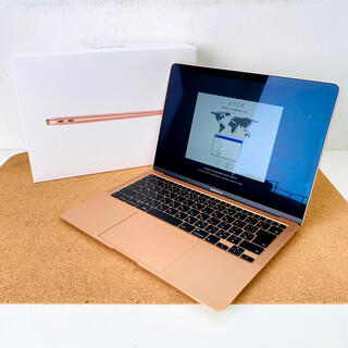 マック(MAC)の美品 MacBook Air 2020 1.1GHz i5 16GB 512GB(ノートPC)