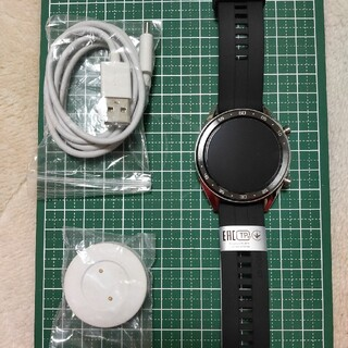 huawei gt ガラスフィルム貼付け済 (腕時計(デジタル))