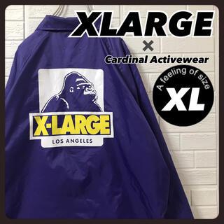エクストララージ(XLARGE)のエクストララージ ナイロンジャケット コーチジャケット 紫 XL(ナイロンジャケット)