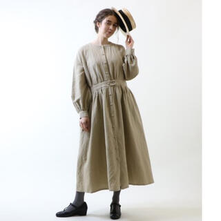 nest Robe - 美品★MAGALI マガリ★ワンピース 羽織り コート 2way★コットンリネン