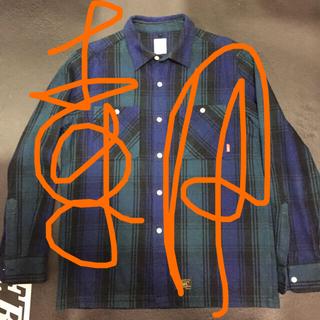ダブルタップス(W)taps)のwtaps ネルシャツ XL 美品 正規購入 本物(シャツ)