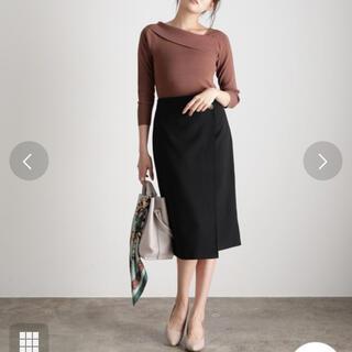 ViS - vis 今期 即完売 ラップ風スカート