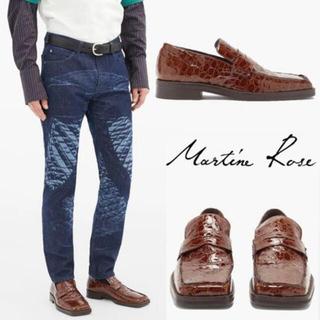 Maison Martin Margiela - 新品 Martin Rose クロコダイルRoxyローファー サイズ41