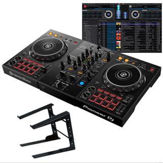 パイオニア(Pioneer)のパイオニア DDJ400 +PCスタンド+ケース付(DJコントローラー)