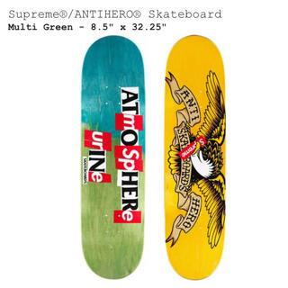 シュプリーム(Supreme)のSupreme ANTIHERO Skateboard Deck(スケートボード)