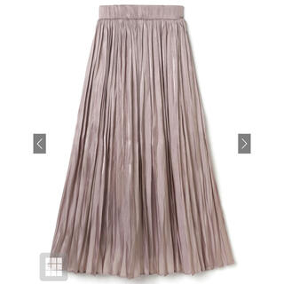GRL - 【新品未開封】サテンプリーツロングスカート